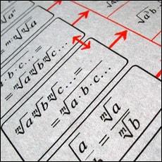 Математикадан тарқатма материаллар
