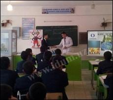 Разработка урока «Кислород как химический элемент» (видео)