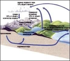Разработка урока «Взаимодействие океана с атмосферой и сушей»