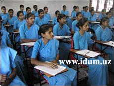 Образовательная система Индии (видео)