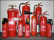 Виды огнетушителей (видео)