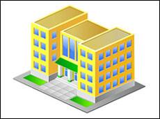 Замонавий мактабнинг 3D кўриниши (видео)