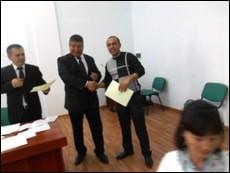 Ўқитувчиларимиз Ташкент шаҳрида тренинг машғулотларида иштирок этдилар