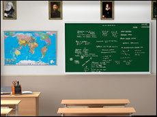 Почему школьные доски зеленого цвета? (видео)